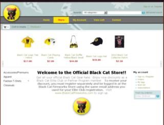 store.blackcatfireworks.com screenshot