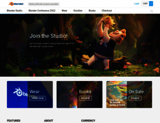 store.blender.org screenshot