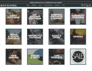 store.bootworld.com screenshot