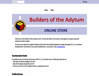 store.bota.org screenshot