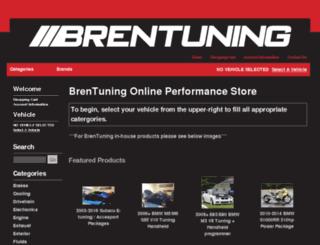 store.brentuning.com screenshot