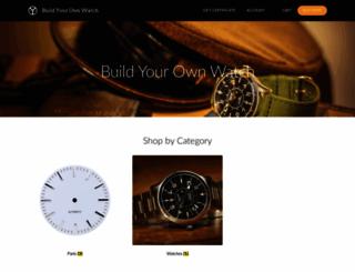 store.buildyourownwatch.com screenshot