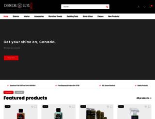 store.chemicalguyscanada.ca screenshot