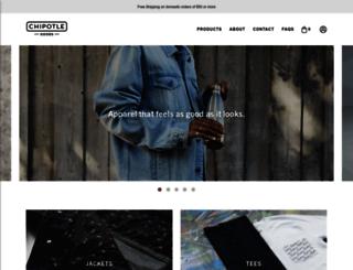 store.chipotle.com screenshot