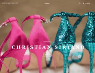 store.christiansiriano.com screenshot