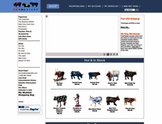 store.cowparade.com screenshot