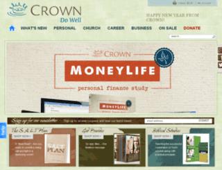 store.crown.org screenshot