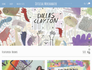 store.dallasclayton.com screenshot