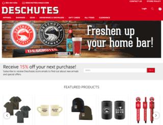 store.deschutesbrewery.com screenshot