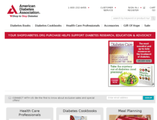 store.diabetes.org screenshot