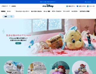 store.disney.co.jp screenshot