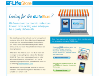 store.dlife.com screenshot