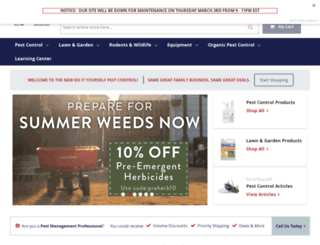 store.doyourownpestcontrol.com screenshot
