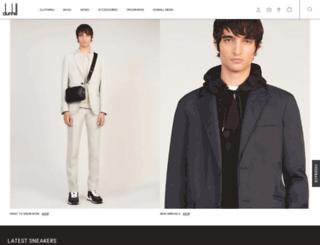 store.dunhill.com screenshot