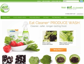 store.eatcleaner.com screenshot