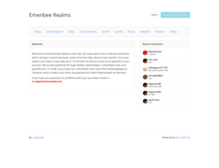 store.emenbee.net screenshot