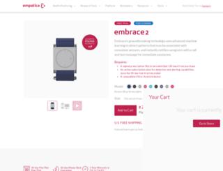 store.empatica.com screenshot