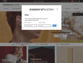 store.energysistem.com screenshot