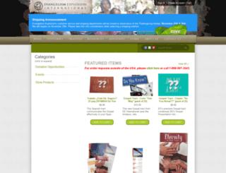 store.evangelismexplosion.org screenshot