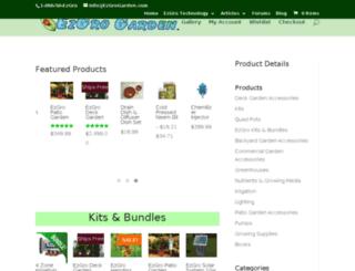 store.ezgrogarden.com screenshot