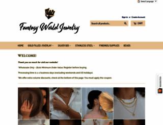 store.fantasyworldjewelry.com screenshot