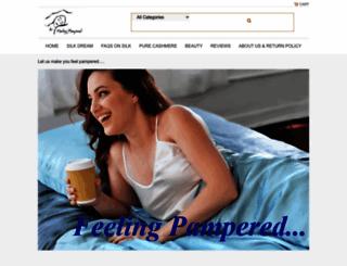 store.feelingpampered.com screenshot