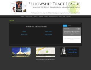 store.fellowshiptractleague.org screenshot