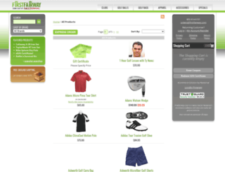 store.firstfairway.com screenshot