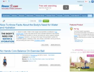 store.fitness.com screenshot