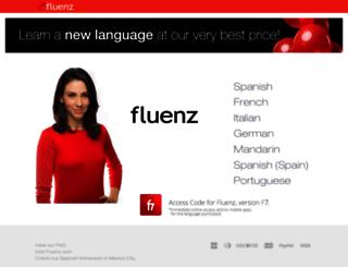 store.fluenz.com screenshot