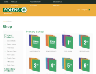 store.folens.ie screenshot