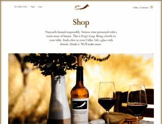 store.frogsleap.com screenshot