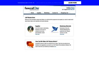 store.funeralone.com screenshot