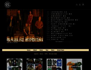 store.gaelicstorm.com screenshot