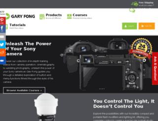 store.garyfonginc.com screenshot