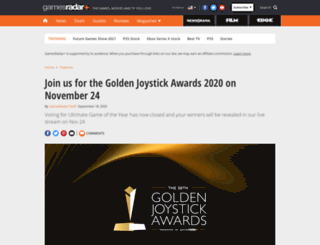 store.goldenjoystick.com screenshot