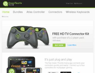 store.greenthrottle.com screenshot