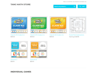 store.gregtangmath.com screenshot