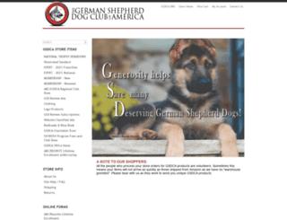 store.gsdca.org screenshot