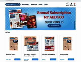 store.gulfnews.com screenshot