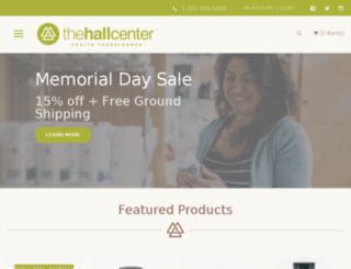 store.hallcentervenice.com screenshot