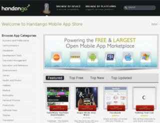 store.handango.com screenshot