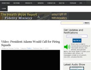 store.healthwyze.org screenshot