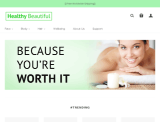 store.healthybeautiful.net screenshot