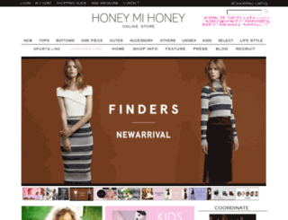 store.honey-mi-honey.com screenshot