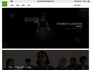 store.hufworldwide.com screenshot
