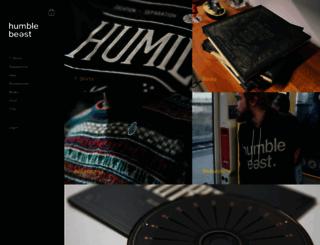 store.humblebeast.com screenshot