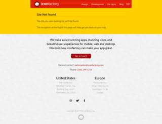 store.iconfactory.com screenshot