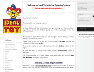 store.idealtoy.co.za screenshot