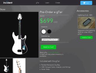 store.incidentgtar.com screenshot